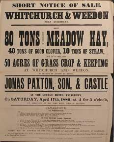 80 Tons of Excellent Meadow Hay, Clover,: Paxton, Jonas &