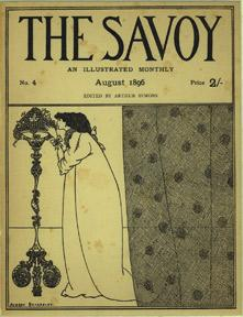 Cover for The Savoy.: Beardsley, Aubrey.