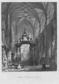 Chapel of St. Gudule, Brussels.: Turnbull, T.