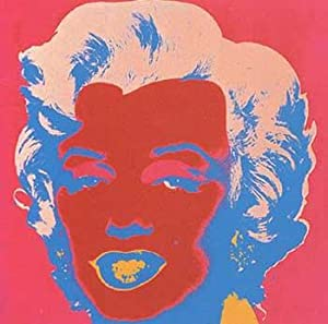 Marilyn Monroe 1967 in Crimson, Cherry, Flax Blue, Shell Pink and Apricot.: Warhol, Andy (After).