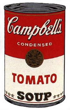 Campbell's Soup I 1968. Tomato.: Warhol, Andy (After).