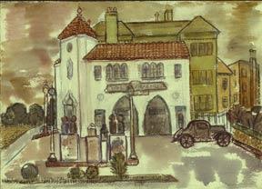 Filling Station, Oakland, California.: Johnson, Doris Miller.