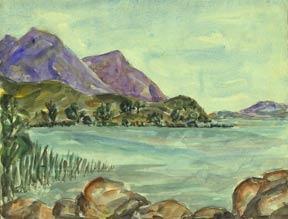 Lake and Hills, Lower Lake, Lake County.: Johnson, Doris Miller.