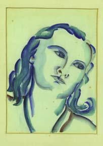 Portrait of a Woman.: Johnson, Doris Miller.