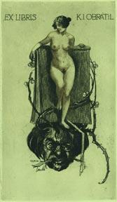Ex Libris K.J. Obratil.: Liebing, Alfred.