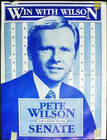 Win With Wilson. Pete Wilson for United States Senate