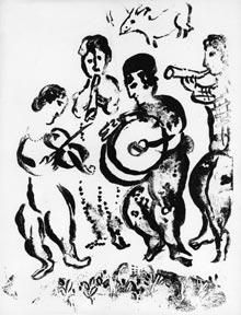 Musicians and Chagall Lithographe, Vol. 2: 1957-1962.: Mourlot, Fernand and