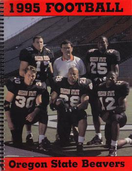1995 Oregon State Football Media Guide.: Oregon State University Athletic Department.