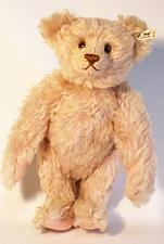 Light pink mohair Steiff 'Teddy Rose' limited edition teddy bear.: Steiff.