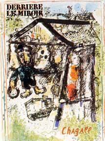 Derriere le miroir by chagall marc abebooks for Marc chagall derriere le miroir