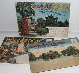 Souvenir Folders of Inglewood Park Cemetery, Hollywood,: Longshaw Card Co.