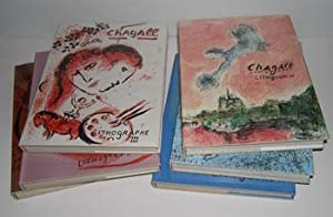 Chagall Lithograph. Vols. I-VI (Complete). Auf deutsch.: Mourlot, Fernand, Julien