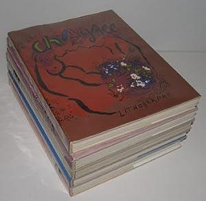 Chagall Lithograph. Vols. I-IV & VI. Auf: Mourlot, Fernand, Julien