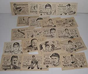 "Signal Gasoline Baseball Cards Featuring ""Tuck"" Stainback,: Demaree, Al and"