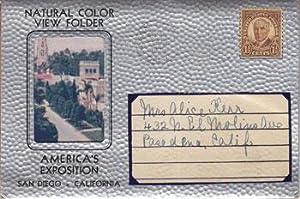 Natural Color View Folder, America's Exposition, San: Sirigo, John.