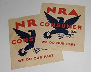 NRA Consumer. We Do Our Part.: National Recovery Administration (Washington, D.C.).