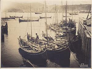 Norwegian fishing boats.