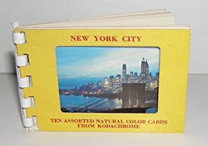 New York City: Ten Assorted Natural Color Cards from Kodachrome.: Dexter (West Nyack, N.Y.).