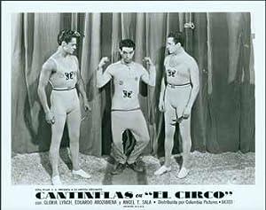 El Circo. [Movie poster / Cartel de: Cantinflas (Mario Moreno).