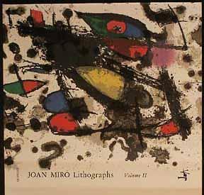 Joan Miró: Samlade litografier, Vol. II, 1953-1963. Deluxe Edition.: Mourlot, Fernand and ...