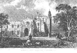 Pentillie Castle, Cornwall.: Allom and Rolph.