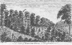 S. E. View of Burghope House, Herefordshire.: T. Cook