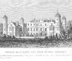 Cobham Hall, Kent, the Seat of Earl Darnley.: Anonymous.