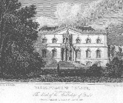 Bishopthorpe Palace, Yorkshire. The Seat of the Archbishop of York.: Radclyffe after Neale.