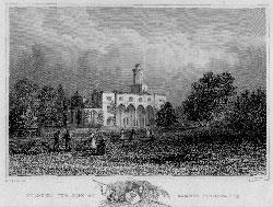 Fernhill, the Seat of Samuel Sanders.: Barber after Bartlett.