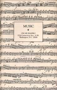 Music. Catalogue 25, 1991.