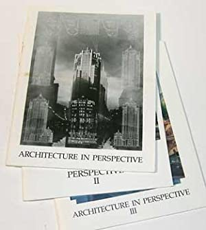 Architecture in Perspective I, II and III.: American Society of Architectural Perspectivists (...