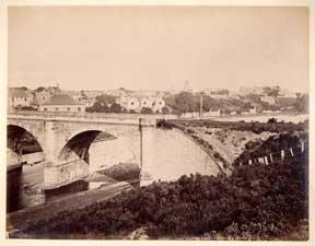 Nairn, from the Railway Bridge.: Valentine, James.