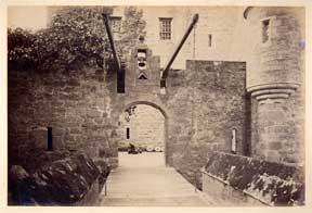 Drawbridge, Cawdor Castle. Nairn.: Wilson, G. W.