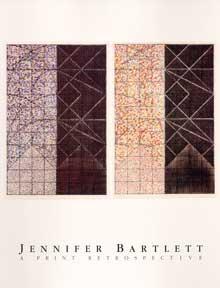 Jennifer Bartlett: A Print Retrospective.: Bartlett, Jennifer, Sue Scott and Richard S. Field.