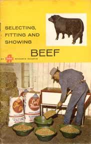 Selecting, Fitting and Showing Beef.