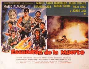 Escuadron de la muerte, El [movie poster]. (Cartel de la película).: Dirección: Alfredo ...