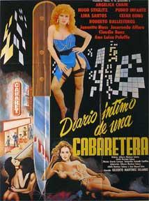Diario intimo de una cabaretera, El [movie poster]. (Cartel de la película).: Dirección: ...