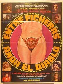 Entre ficheras anda el diablo - La pulqueria 3 [movie poster]. (Cartel de la película).: ...