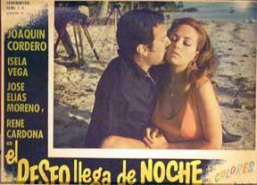 Deseo llega de noche, El [movie poster]. (Cartel de la película).: Dirección: Manuel Zecena Dieguez...