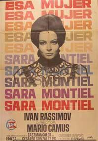 Esa mujer [movie poster]. (Cartel de la película).: Dirección: Mario Camus. Con Sara Montiel...