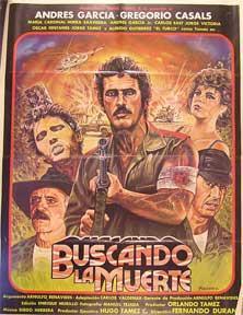 Buscando la muerte [movie poster]. (Cartel de la película).: Dirección: Fernando Duran Rojas...