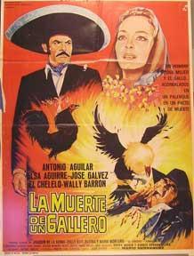 Muerte de un gallero, La [movie poster]. (Cartel de la película).: Dirección: Mario ...