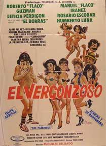 Vergonzoso, El [movie poster]. (Cartel de la película).: Dirección: Miguel M. Delgado. Con ...