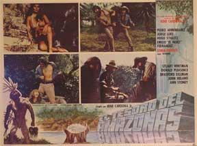 El Tesoro del Amazonas [movie poster]. (Cartel de la película).: Dirección: Rene Cardona Jr....