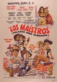 Maistros, Los [movie poster]. (Cartel de la: Dirección: Rafael Villasenor