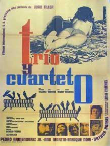 Trio y cuarteto [movie poster]. (Cartel de la película).: Dirección: Sergio Vejar. Con ...