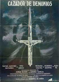 Cazador de demonios [movie poster]. (Cartel de la película).: Dirección: Gilberto de Anda. Con ...