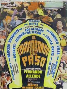 Contrabando del paso, El [movie poster]. (Cartel de la película).: Dirección: Gilberto ...