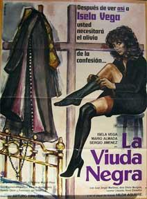 La Viuda Negra [movie poster]. (Cartel de la película).: Dirección: Arturo Ripstein. Con ...