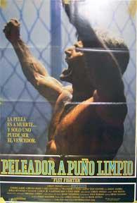 Peleador a Puno Limpio [movie poster]. (Cartel de la película).: Dirección: Frank Zuniga. ...